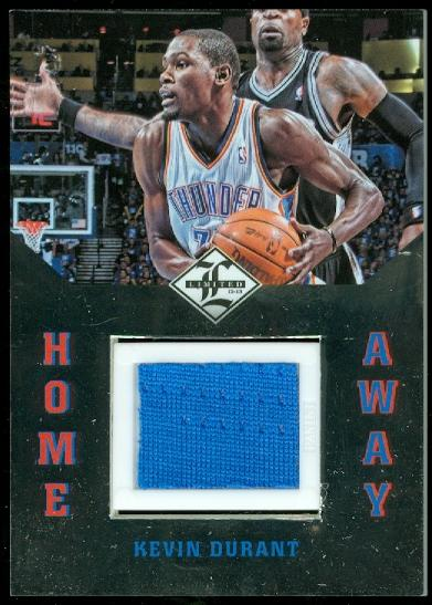 2012-13 Limited Home and Away Materials #6 Kevin Durant/99