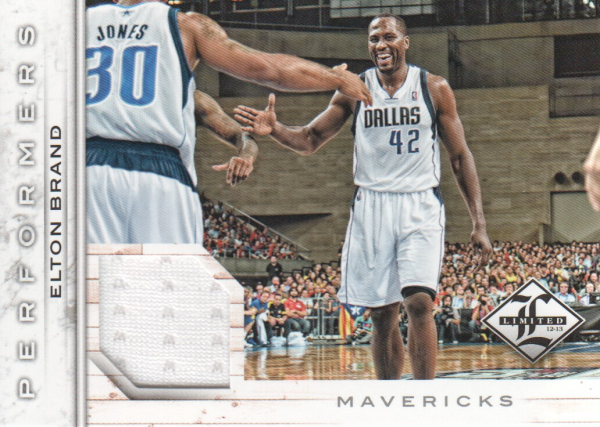 2012-13 Limited Performers Materials #5 Elton Brand/199
