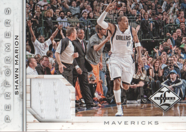 2012-13 Limited Performers Materials #17 Shawn Marion/199