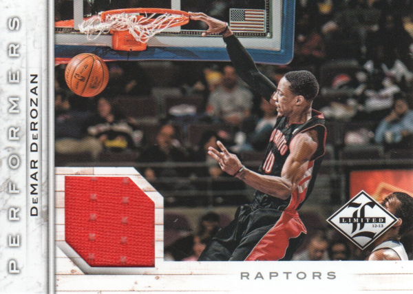 2012-13 Limited Performers Materials #30 DeMar DeRozan/199