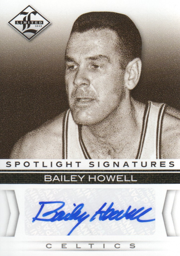 2012-13 Limited Spotlight Signatures #6 Bailey Howell/99