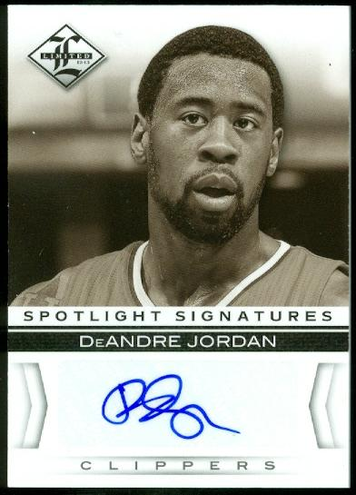 2012-13 Limited Spotlight Signatures #22 DeAndre Jordan/99