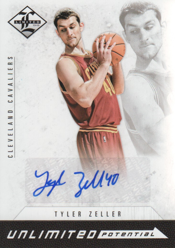 2012-13 Limited Unlimited Potential Signatures #15 Tyler Zeller/199