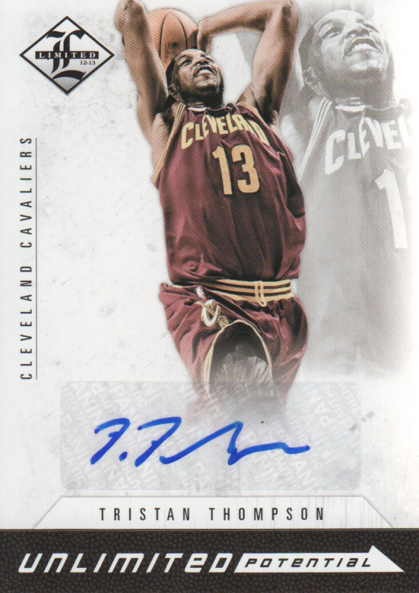 2012-13 Limited Unlimited Potential Signatures #27 Tristan Thompson/199