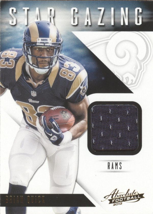 2012 Absolute Star Gazing Materials #7 Brian Quick