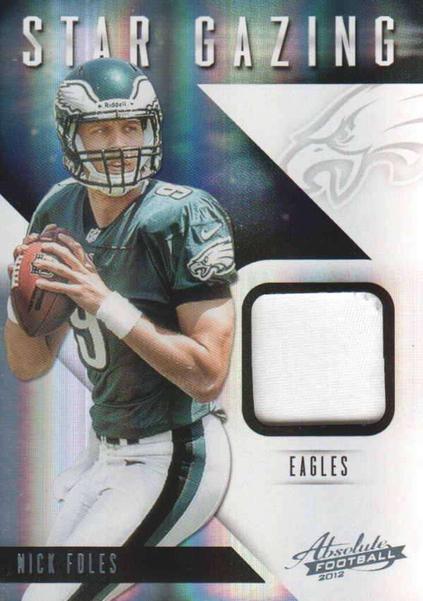 2012 Absolute Star Gazing Materials Prime #25 Nick Foles