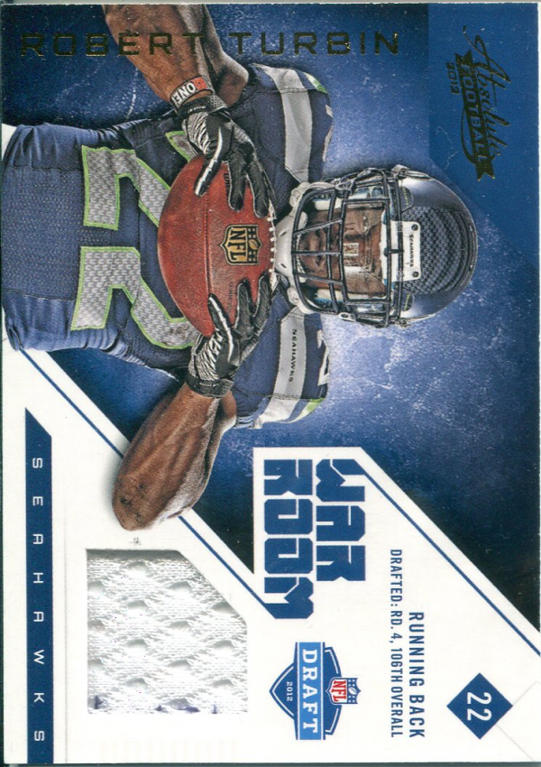 2012 Absolute War Room Materials #27 Robert Turbin