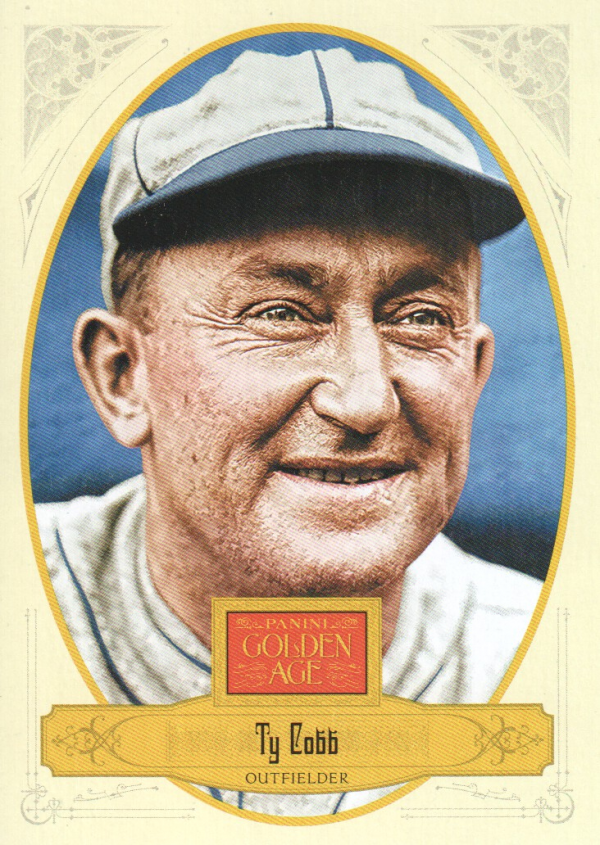 2012 Panini Golden Age #2 Ty Cobb