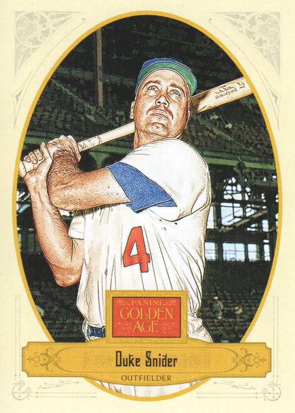 2012 Panini Golden Age #68 Duke Snider