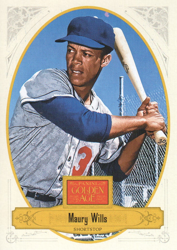 2012 Panini Golden Age #140 Maury Wills