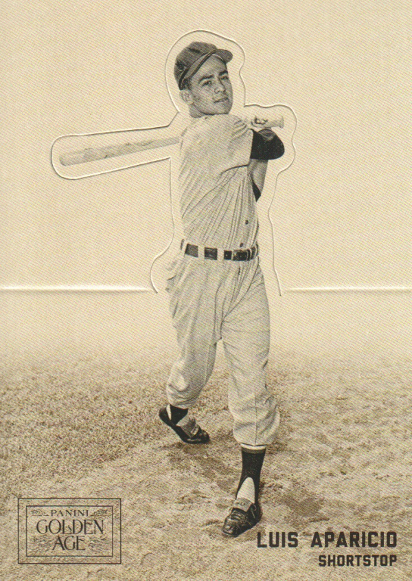 2012 Panini Golden Age Batter-Up #16 Luis Aparicio