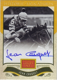 2012 Panini Golden Age Historic Signatures #8 Jean Cruguet