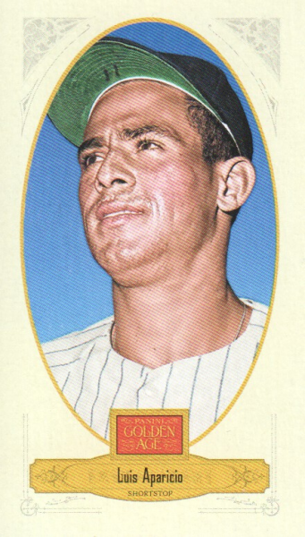 2012 Panini Golden Age Mini Broadleaf Brown Ink #88 Luis Aparicio