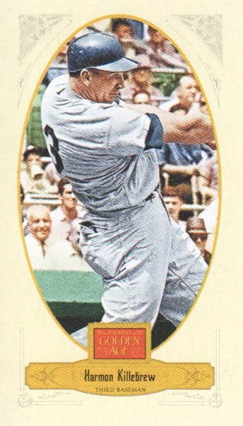2012 Panini Golden Age Mini Broadleaf Brown Ink #97 Harmon Killebrew
