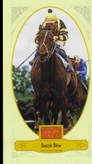 2012 Panini Golden Age Mini Broadleaf Brown Ink #114 Seattle Slew