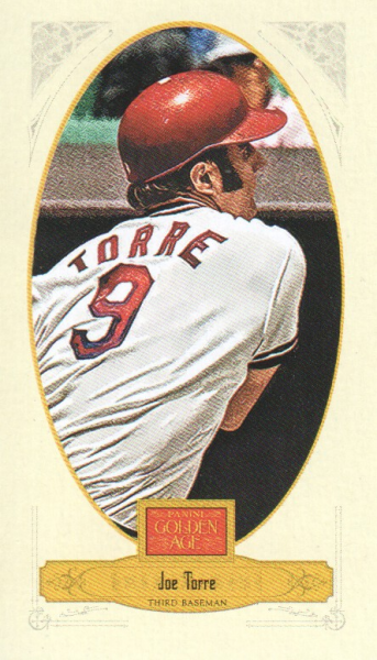 2012 Panini Golden Age Mini Broadleaf Brown Ink #123 Joe Torre