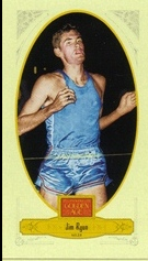 2012 Panini Golden Age Mini Crofts Candy Red Ink #75 Jim Ryun