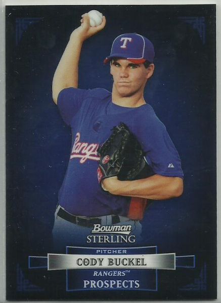 2012 Bowman Sterling Prospects #BSP9 Cody Buckel