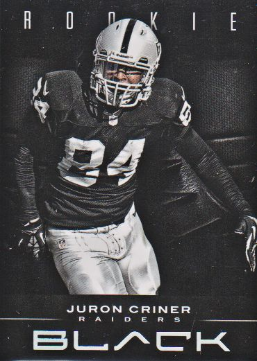 2012 Panini Black #151 Juron Criner RC