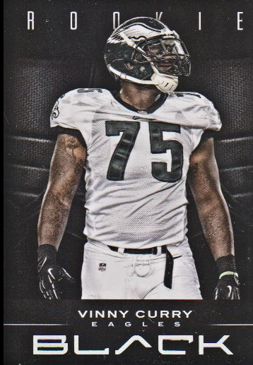 2012 Panini Black #197 Vinny Curry RC