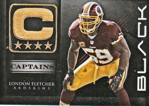 2012 Panini Black Captains #23 London Fletcher