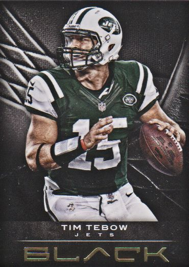 2012 Panini Black Gold #40 Tim Tebow