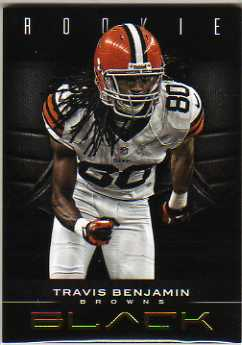 2012 Panini Black Gold #193 Travis Benjamin
