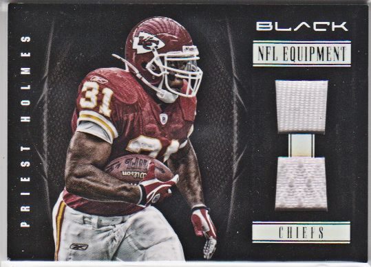 2012 Panini Black NFL Equipment Combos #69 Priest Holmes/99