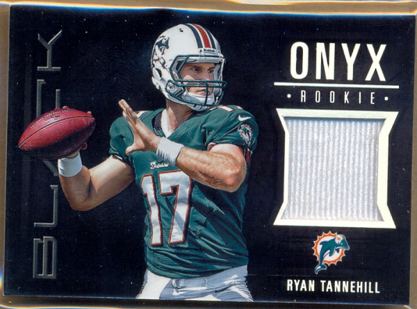 2012 Panini Black Onyx Rookie Materials #4 Ryan Tannehill