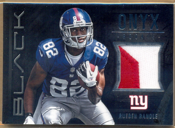 2012 Panini Black Onyx Rookie Materials Prime #20 Rueben Randle