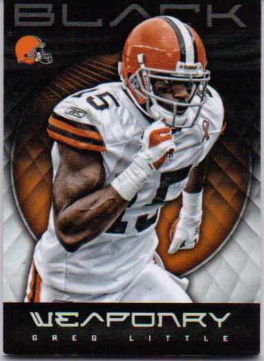 2012 Panini Black Weaponry #5 Greg Little