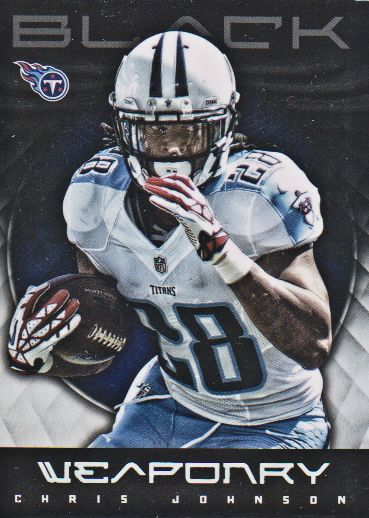 2012 Panini Black Weaponry #6 Chris Johnson