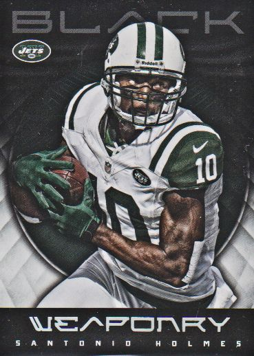 2012 Panini Black Weaponry #9 Santonio Holmes