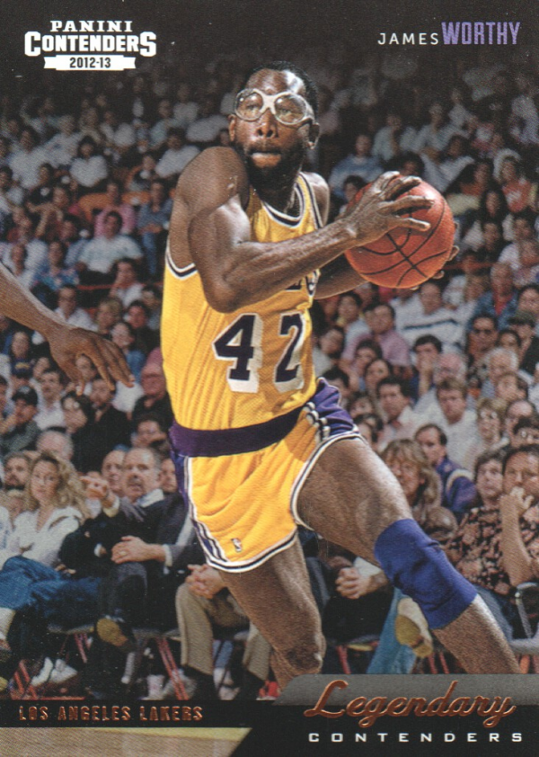 2012-13 Panini Contenders Legendary Contenders #36 James Worthy
