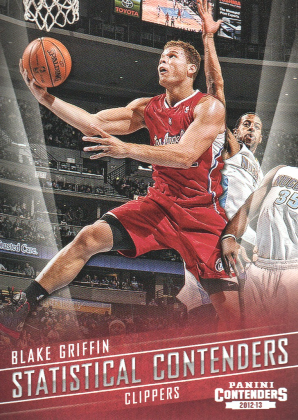 2012-13 Panini Contenders Statistical Contenders #15 Blake Griffin