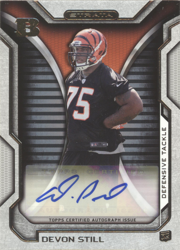 2012 Topps Strata Rookie Autographs #RADS Devon Still