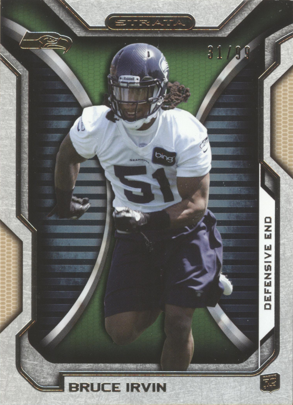 2012 Topps Strata Gold #24 Bruce Irvin