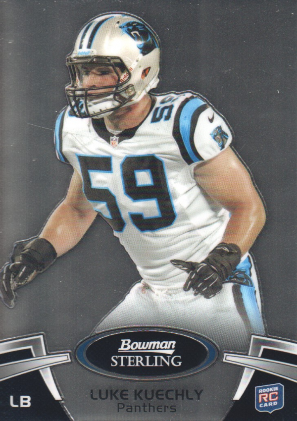 2012 Bowman Sterling #74 Luke Kuechly RC