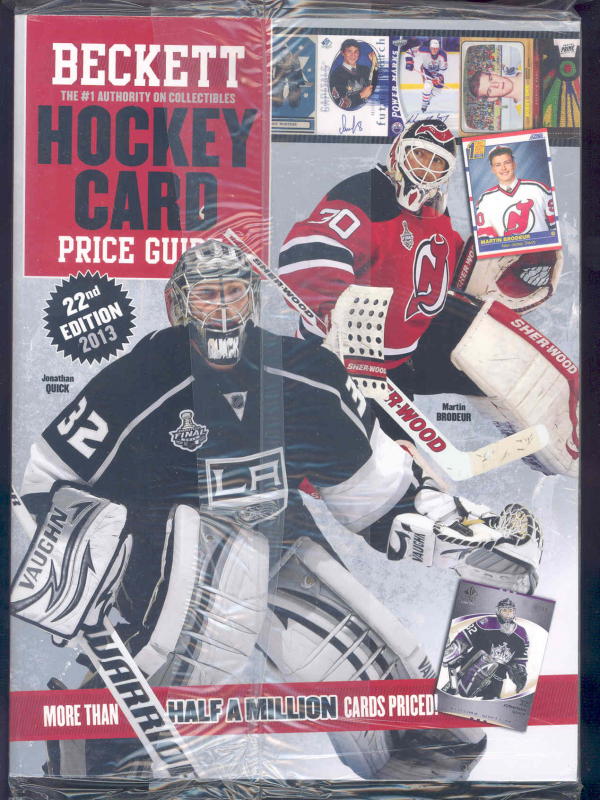 New Current Beckett Hockey Card 2013 Annual Price Guide #22nd Edition Hockey Guide Book