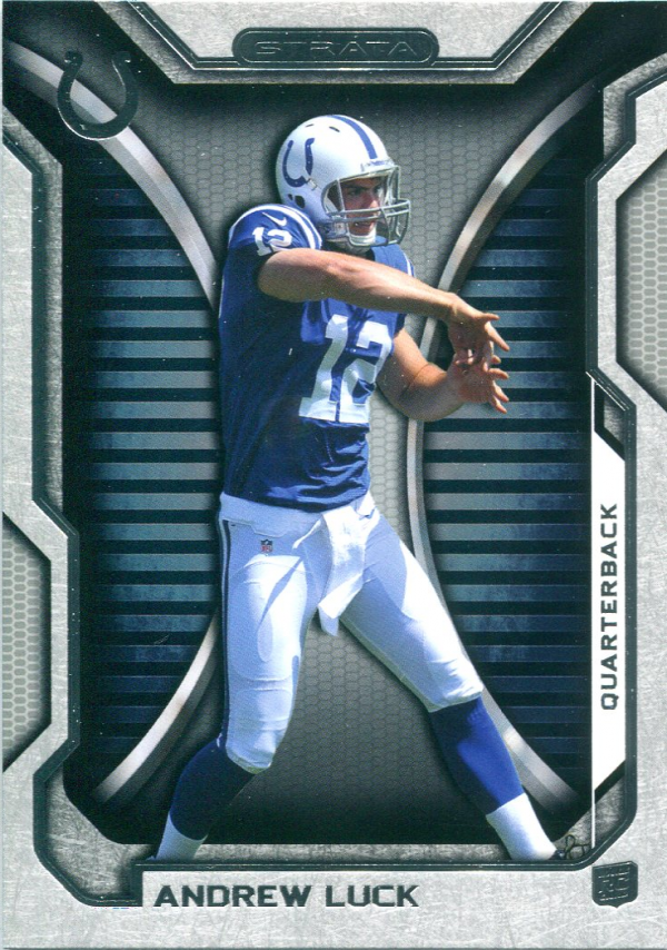 2012 Topps Strata Retail #150 Andrew Luck RC
