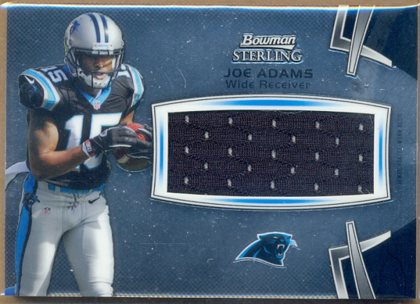 2012 Bowman Sterling #BSJRRJA Joe Adams JSY