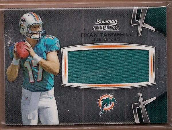 2012 Bowman Sterling #BSJRRRT Ryan Tannehill JSY