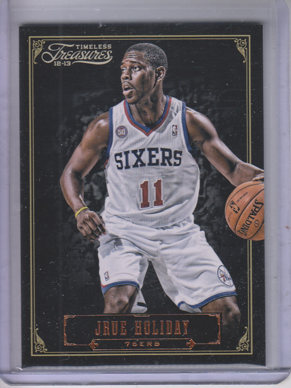 2012-13 Timeless Treasures #5 Jrue Holiday