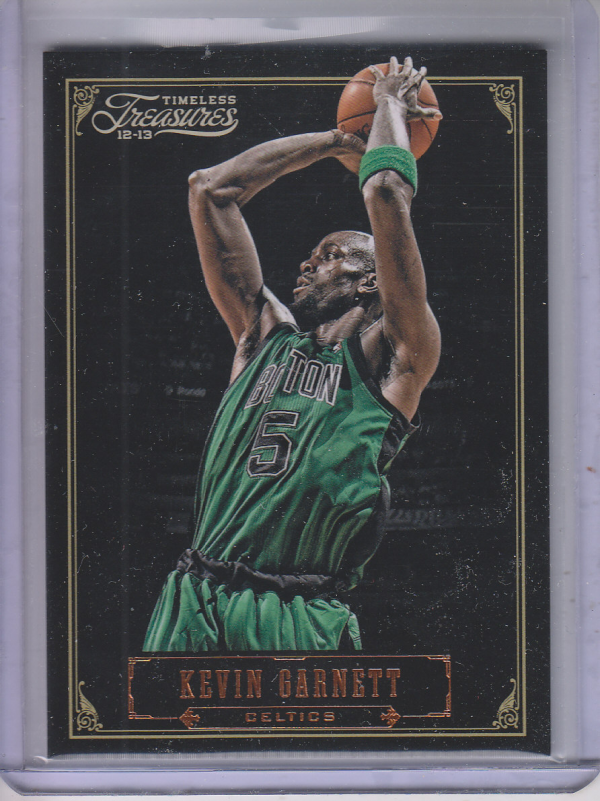2012-13 Timeless Treasures #6 Kevin Garnett