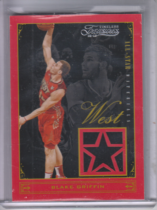 2012-13 Timeless Treasures All-Star Materials #1 Blake Griffin