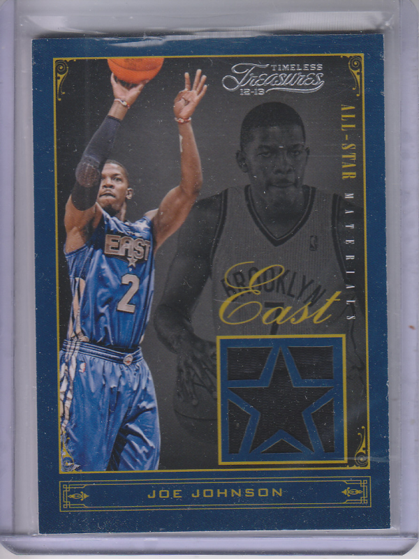 2012-13 Timeless Treasures All-Star Materials #10 Joe Johnson