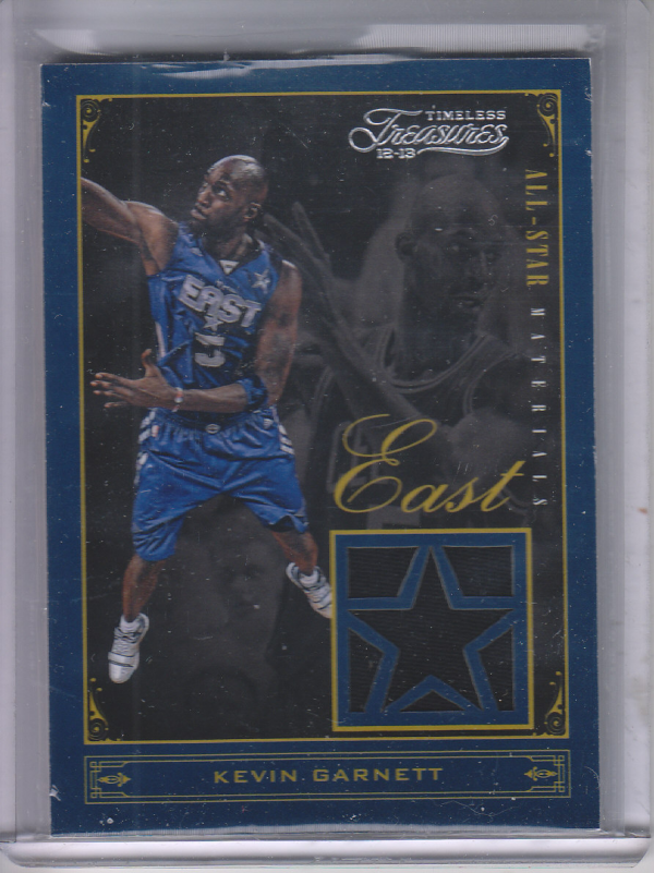 2012-13 Timeless Treasures All-Star Materials #12 Kevin Garnett