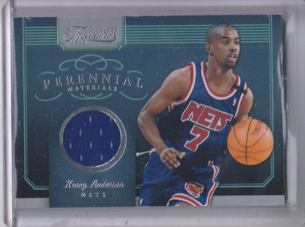 2012-13 Timeless Treasures Perennial Materials #11 Kenny Anderson