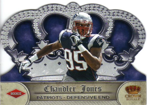 2012 Crown Royale #165 Chandler Jones RC
