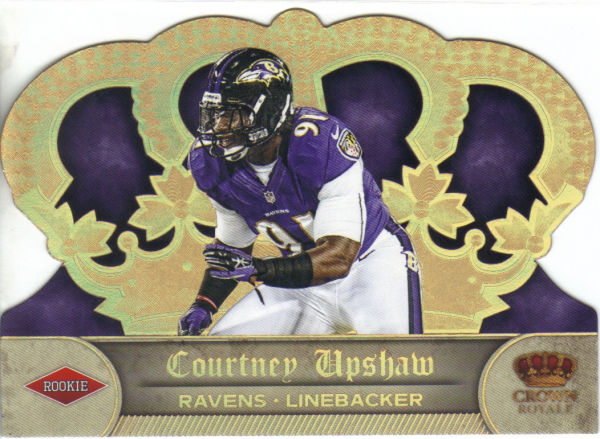 2012 Crown Royale Gold Holofoil #170 Courtney Upshaw
